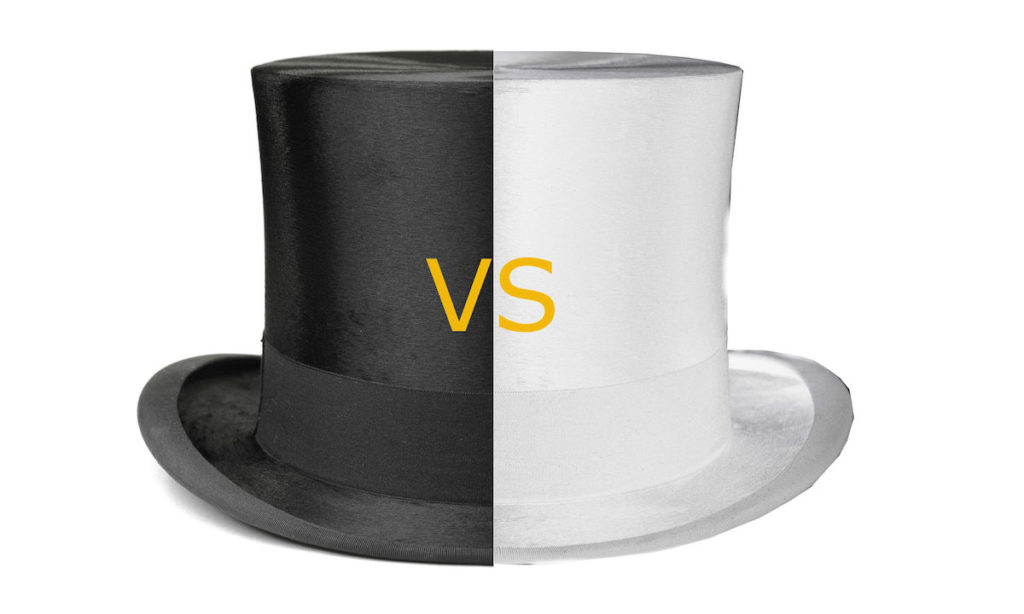 DizzyWeb - Settling The White Hat SEO vs Blackhat SEO Debate
